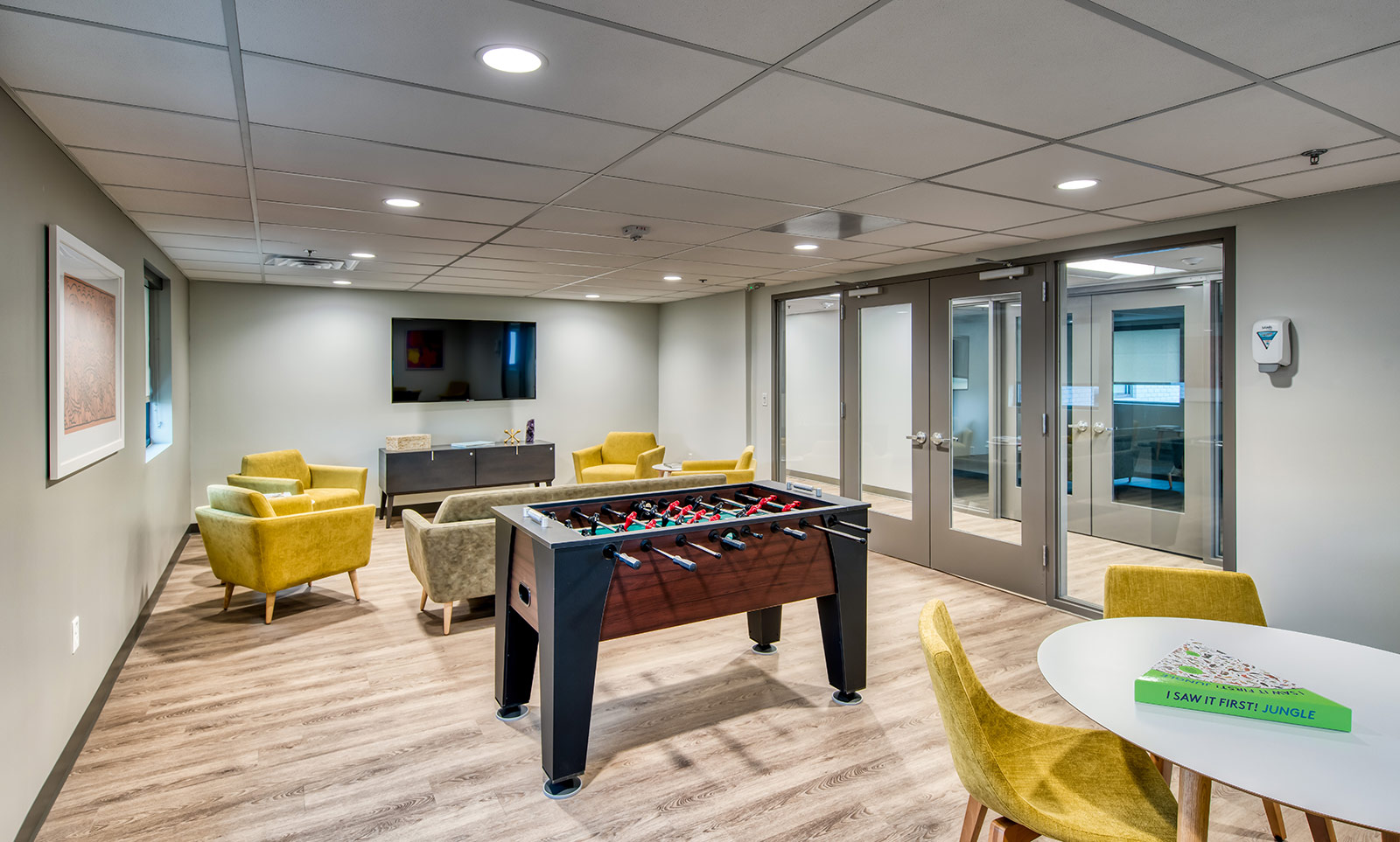 inside game room