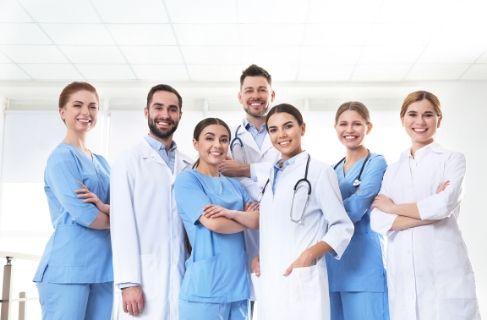 team of medical detox professionals