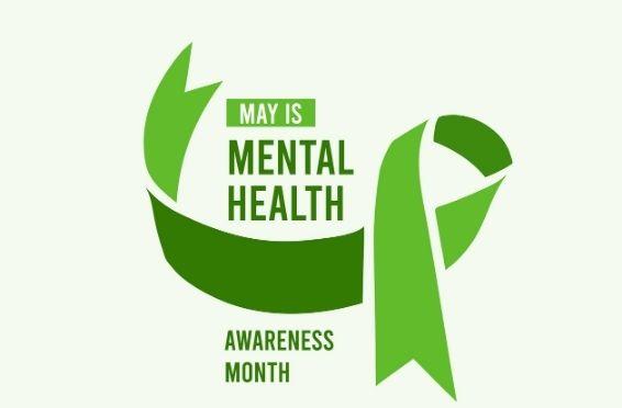 mental health awareness green ribbon